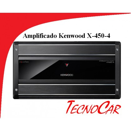 AMPLIFICADOR KENWOOD X-450-4