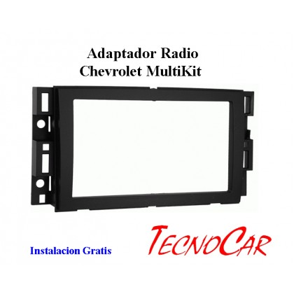 Adaptador radio Chevrolet Multikit