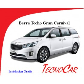 Barras Cross Bar Kia Gran Carnival