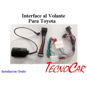 Interface control al Volante Toyota