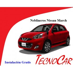 Neblineros Nissan March