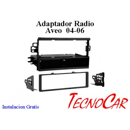 Adaptador radio Chevrolet Aveo