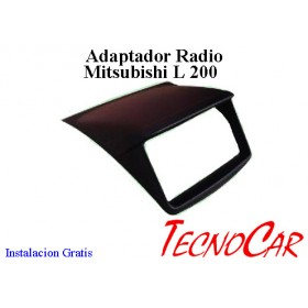Adaptador radio Mitsubishi L 200