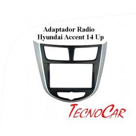 Adaptador radio Hyundai Accent 14