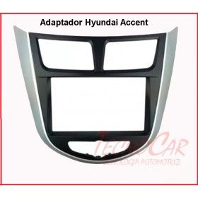 Adaptador radio Hyundai Accent 14