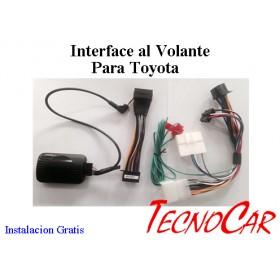 Interface control al Volante Toyota