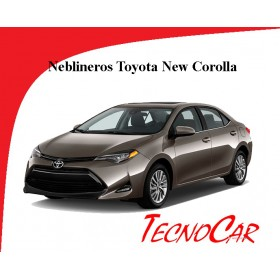 Neblineros Toyota New Corolla 2017