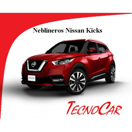 Neblineros Nissan Kicks