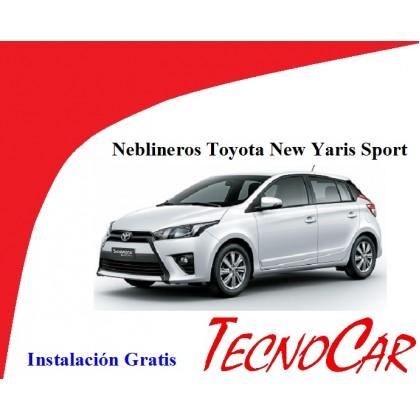 Neblineros Toyota  New Yaris Sport