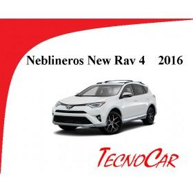 Neblineros Toyota Rav4 2016-2018