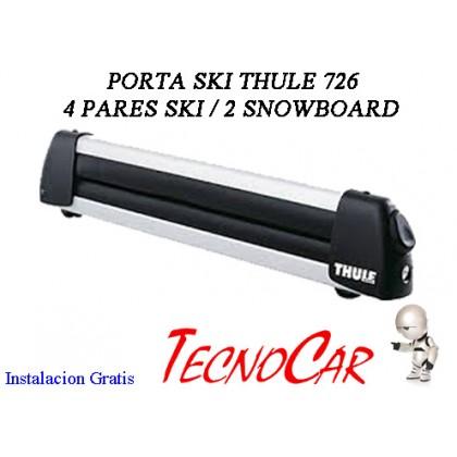 Porta Esqui Thule Deluxe 726