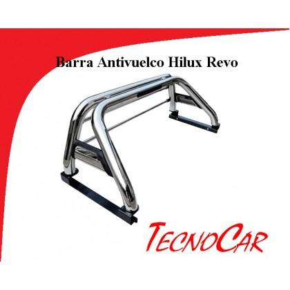 Barra Antivuelco Inox Toyota Hilux Revo