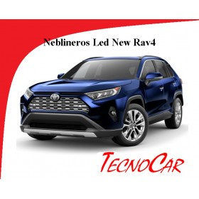 Neblineros Toyota New Rav4 2019-- Led